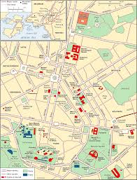 Athens Map Athens Central Athens And Its Metropolitan Area Students
