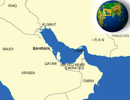 map of bahrain map of bahrain terrain area and outline maps of bahrain