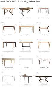 the 25 best rectangle dining table ideas on pinterest custom