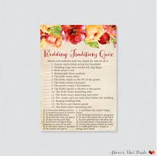 fall wedding traditions quiz printable autumn flower bridal