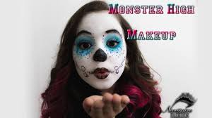 maquiagem halloween infantil monster high makeup youtube