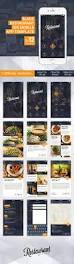 slade restaurant ios mobile app template on behance mobile