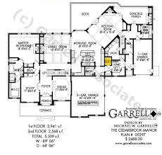 House Plans With Keeping Rooms Cedarbrook Manor House Plan House Plans By Garrell Associates Inc