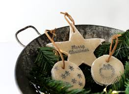 decorate your tree with no bake salt dough ornaments ehow