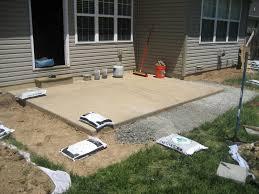 how to install paver patio exterior how to install pavers design for modern home exterior