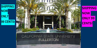 Cal State Fullerton Campus Map by Welcome Little Professor Book Center