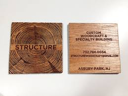 laser cut business cards proper recognition
