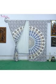 Curtains Printed Designs Buy Printed Designer Mandala Curtains Indianartx