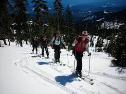 back country skiing u2013 mt shasta ski park