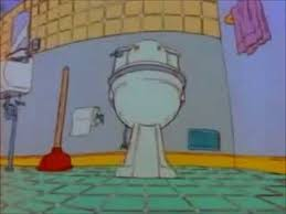Messy Bathroom Tommy Pickles U0027 Messy Bathroom Youtube