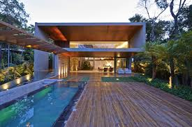 outdoor house brazil house with luxe garden and outdoor living layout