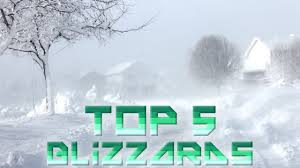 Worst Snowstorm In History by 5 Worst Blizzards Ever Youtube