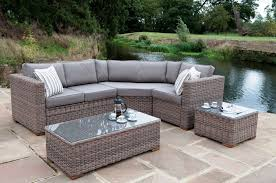 black wicker chairs cane garden furniture sectional patio