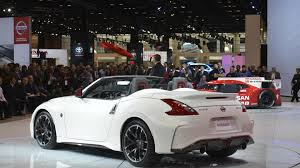 nissan 370z nismo engine nissan 370z nismo roadster concept goes in chicago