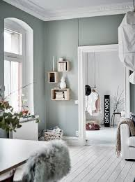 Livingroom Wall Colors Green Grey Home With Character Via Coco Lapine Design Living