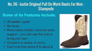 Comfortable Boots For Men Top 6 Best Work Boots For Men 2017 Most Comfortable Usa Made