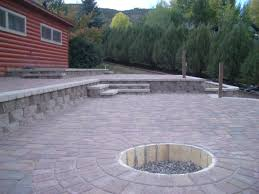 Patio Surfaces by Leven Multi Level Patio Landscaping Portfolio By Dwyer Gardens