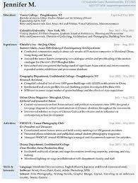 Sample Resume Objectives For Entry Level by Resume Samples Types Of Resume Formats Examples And Templates