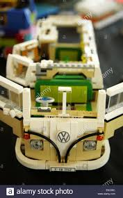 camper van lego york uk 27 july 2014 lego model of a classic volkswagen