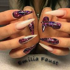 best 20 natural stiletto nails ideas on pinterest stiletto