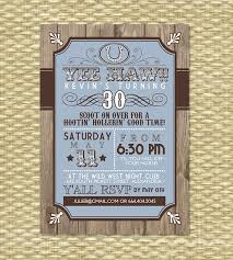 country western birthday invitation by sunshineprintables