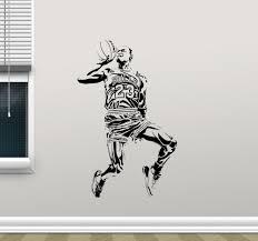 michael jordan wall decal basketball vinyl sticker art poster gym