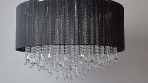 shade crystal chandelier lighting beautiful ceiling lights for living room ideas round