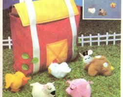 Mobile Play Barn Barnyard Mobile Etsy