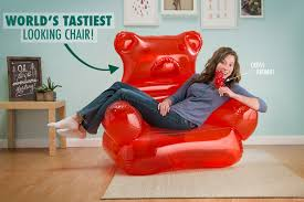 Giant Armchair Gummy Bear Chair Candy Shaped Inflatable Furniture