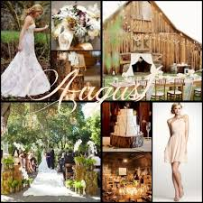 august wedding ideas wedding color ideas by month wedding decor