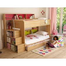 elegant storage stairs for bunk bed and solid wood custom made