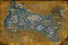 map quests zangarmarsh map with locations npcs and quests of warcraft