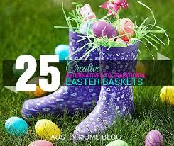 ideas for easter baskets 25 creative easter basket alternatives
