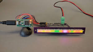 driving a 48 segment rgb led bar graph with a teensy 3 2 photons