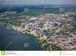 madison wisconsin in summer royalty free stock photo image 12989695