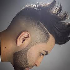 Mens Hairstyles With Line by 24 Men Fohawk Haircut Ideas Designs Hairstyles Design Trends