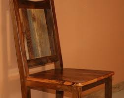 Reclaimed Dining Chairs Metal And Wood Chair Metal Chair Steel Chair Reclaimed Wood