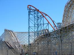 How Many Rides Does Six Flags Have Goliath Roller Coaster At Six Flags Magic Mountain The Coaster Guy