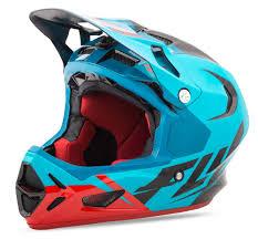 bluetooth motocross helmet werx ultra blue red black helmet fly racing motocross mtb