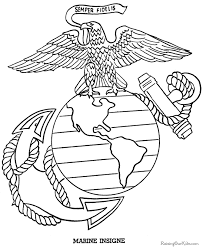 coloring page usmc coloring pages 20 sheets the armed forces