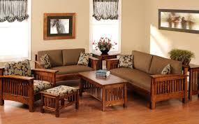 furniture beautiful design rustic living room with brown wood