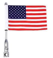 American Flag Bed Set Amazon Com Diamond Plate Bkflagpl Motorcycle Flagpole Mount And