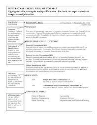 skill resume template skill based resume template free personal skills list