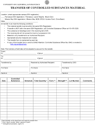 Controlled Substance Log Sheet Template Controlled Substances Manual Environment Health And Safety
