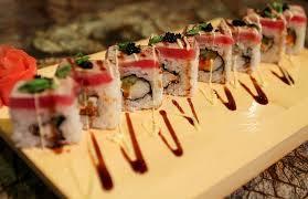 sato japanese cuisine delicious sato maki sushi rolls stock photo image of lunch