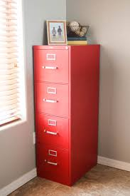 painting metal kitchen cabinets with chalk paint file cabinet makeover using chalk paint pretty handy
