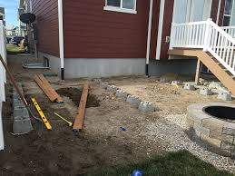 How To Drill Your Own Well In Your Backyard by To Build A Simple Diy Deck On A Budget