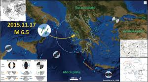 Kefalonia Greece Map by Earthquake Report Greece Jay Patton Online