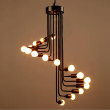 aliexpress com buy loft industrial retro chandelier personality