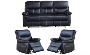 canape relaxe deco in ensemble canape relax noir 3 1 1 places joey joey